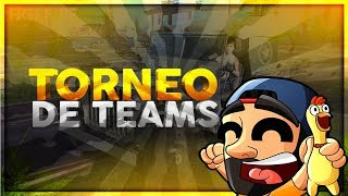 FREE FIRE//🔥 🔥TORNEO DE TEAMS + ACTUALIZACION🔥 🔥 //PUNICHER