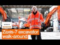 Walk-around: Introducing the new Hitachi Zaxis-7 excavators
