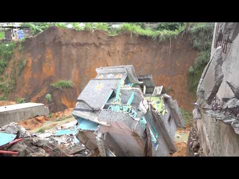 Société:  La pluie du 08 mai 2018 fait des dégâts à Abidjan