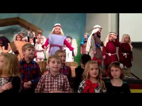 Montage of songs from St John Preschool Christmas Program 2013