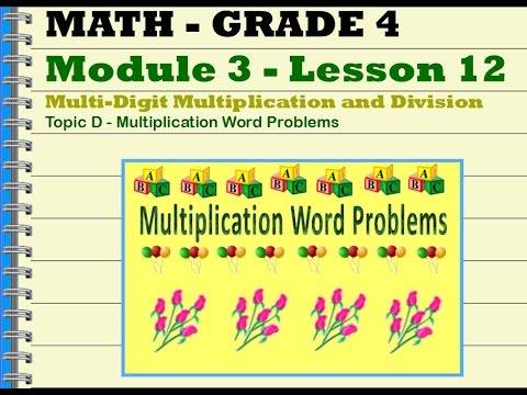 Grade 4 Mod 3 Lesson 12