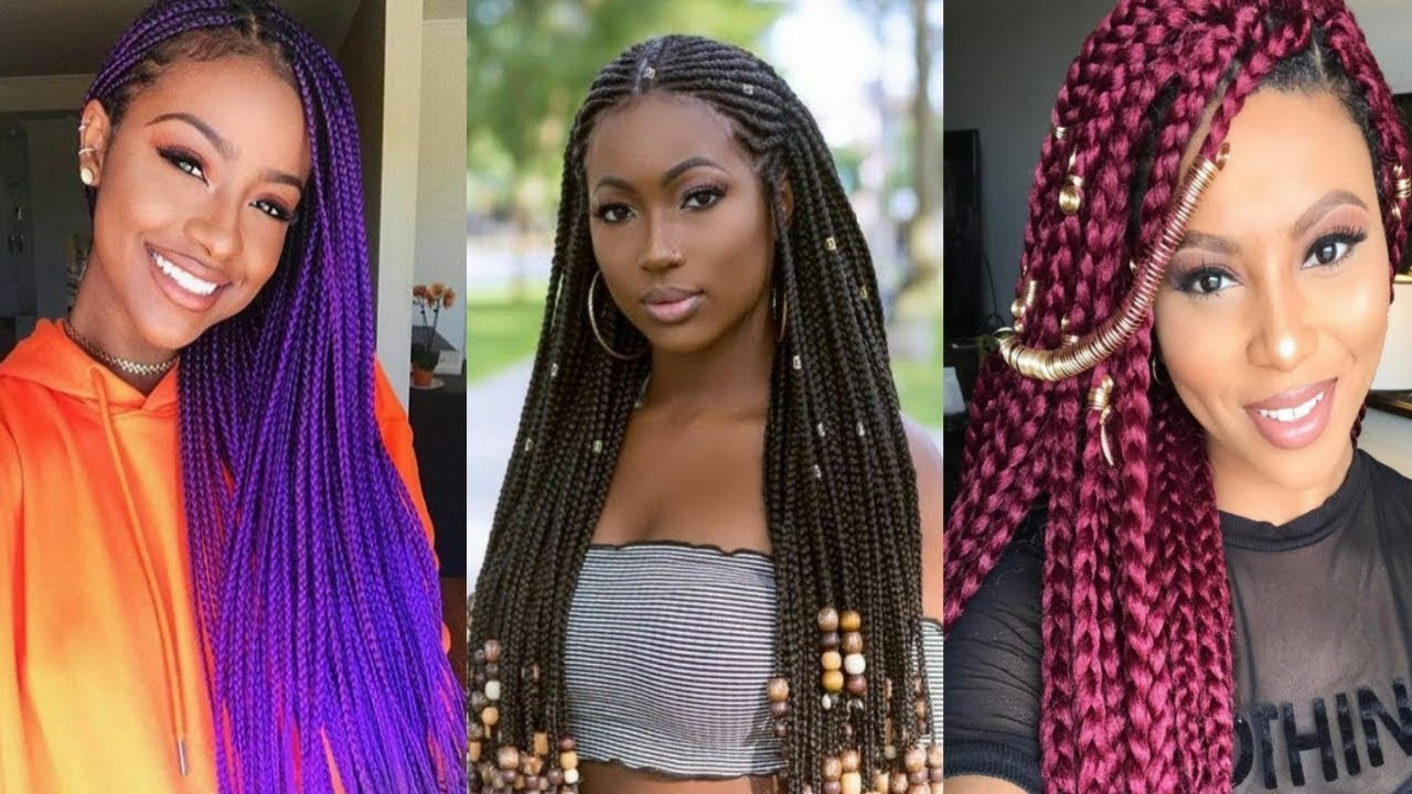 2019 Braided Hairstyles For Black Women Compilation Hairstyle
