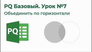 Обучение Excel Power Query на 123 - Модуль2 Основные операции PowerQuery - Урок3 Объединить таблицы
