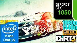 Dirt 3 GTX1050 2GB| Max Settings| 1080p - 1440p - 4K | Benchmark