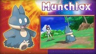 Pokemon Sun/Moon - Special Munchlax Trailer