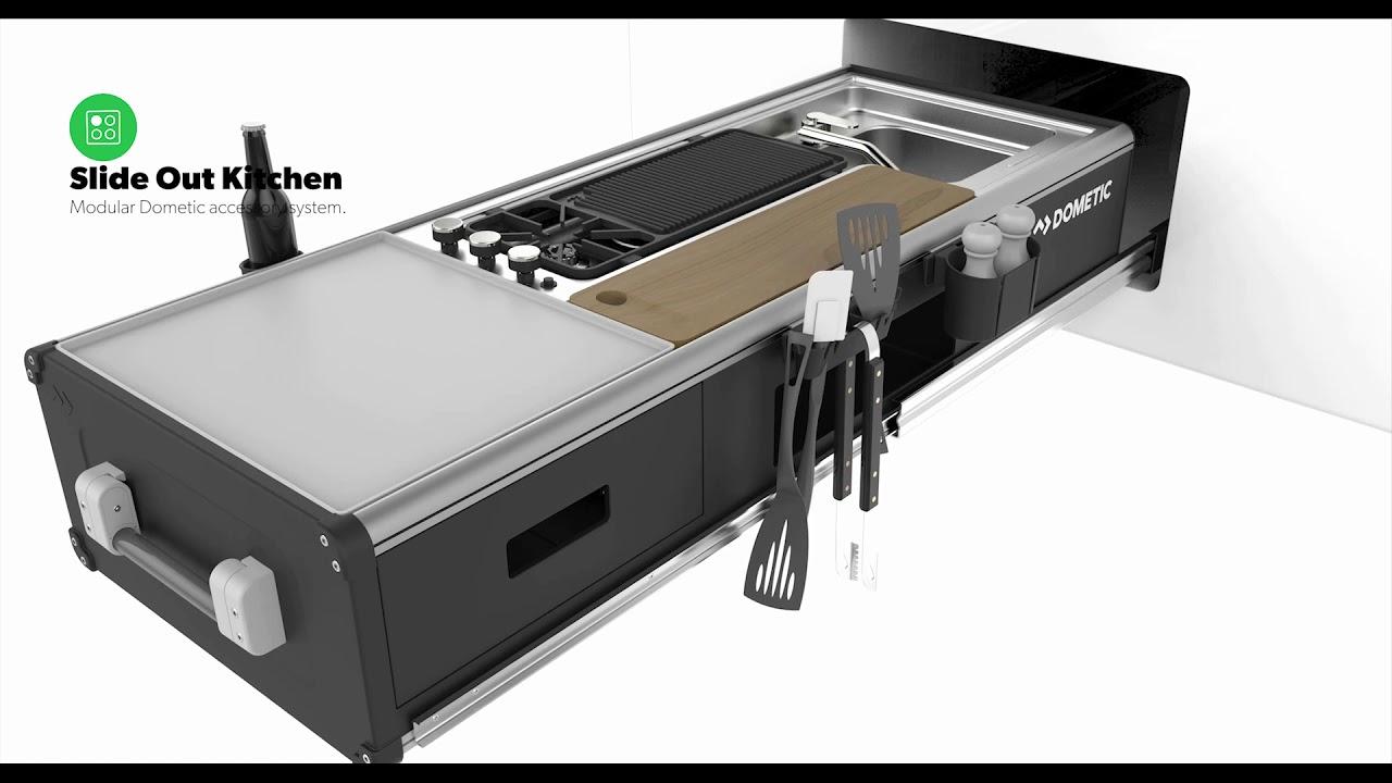 Slide out kitchens for caravans: The ultimate entertaining upgrade