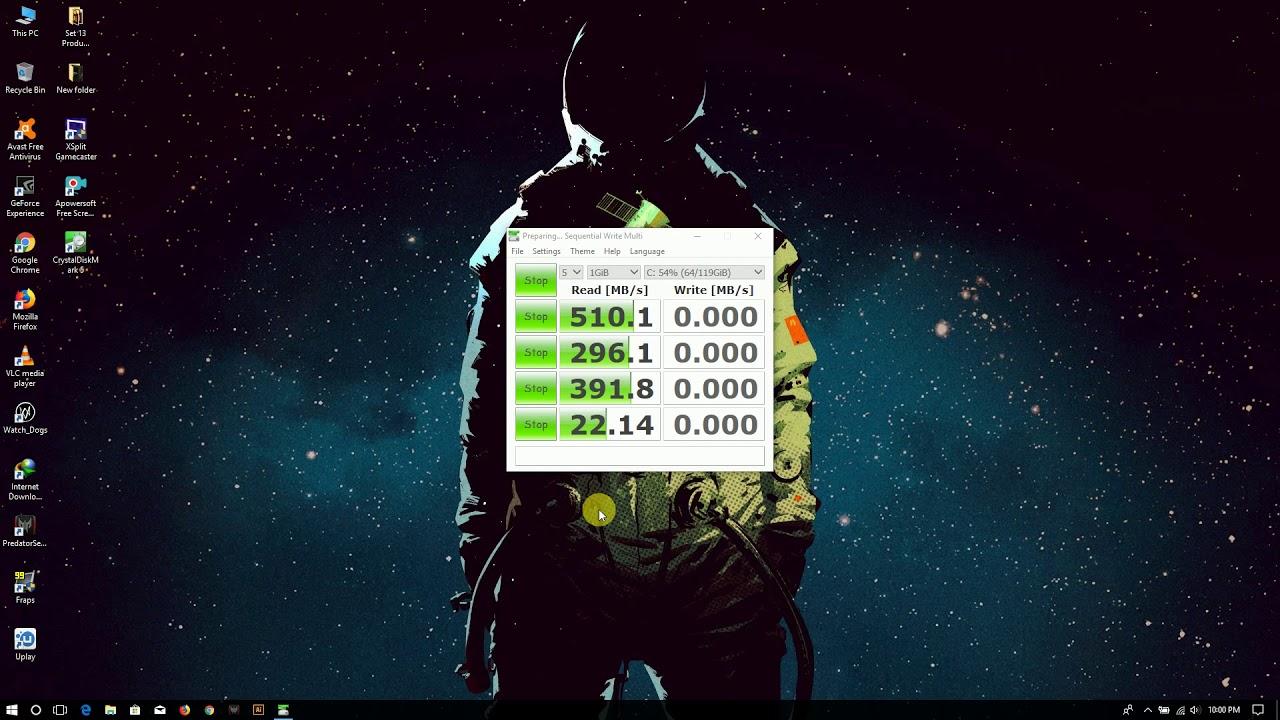 SK hynix SC308 128GB M 2 SSD Speed Test (HFS128G39TND-N210A)