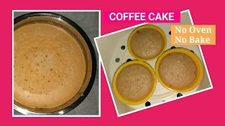 COFFEE CAKE Recipe without oven   No oven   No bake