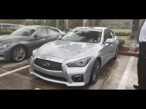 Infiniti Q50 Red Sport Test Drive - Salesman's Not Happy!