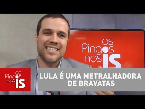 Felipe Moura Brasil: Lula é Uma Metralhadora De Bravatas
