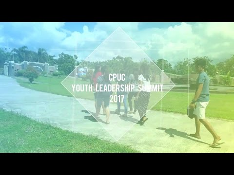 CPUC YOUTH LEADERSHIP SUMMIT 2017