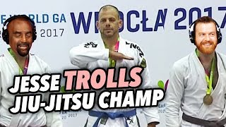 Jesse TROLLS Jiu-Jitsu Champ Dan Schon thumbnail