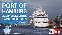 24/7 Webcam 🛳  Port of Hamburg in Germany | Hamburger Hafen Cruise Center Altona
