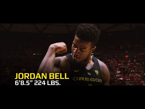 Jordan Bell highlights: Pac-12 Defensive Player of the Year looking to shut down NBA shooters