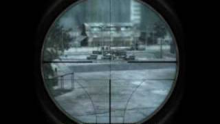 CALL OF DUTY 4 MODERN WARFARE- GHOST TOWN MISSION CHERNOBYL
