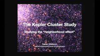 """After Kepler"" with Dimitar Sasselov, Søren Meibom, and David Latham"
