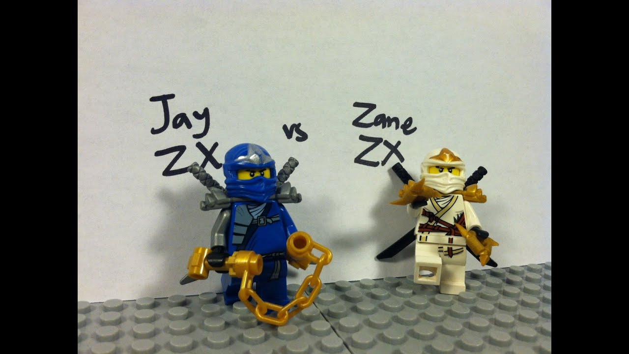 Lego ninjago jay zx vs zane zx youtube - Ninjago vs ninjago ...