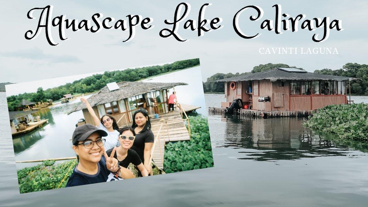Aquascape Lake Caliraya: Floating Cottage - YouTube
