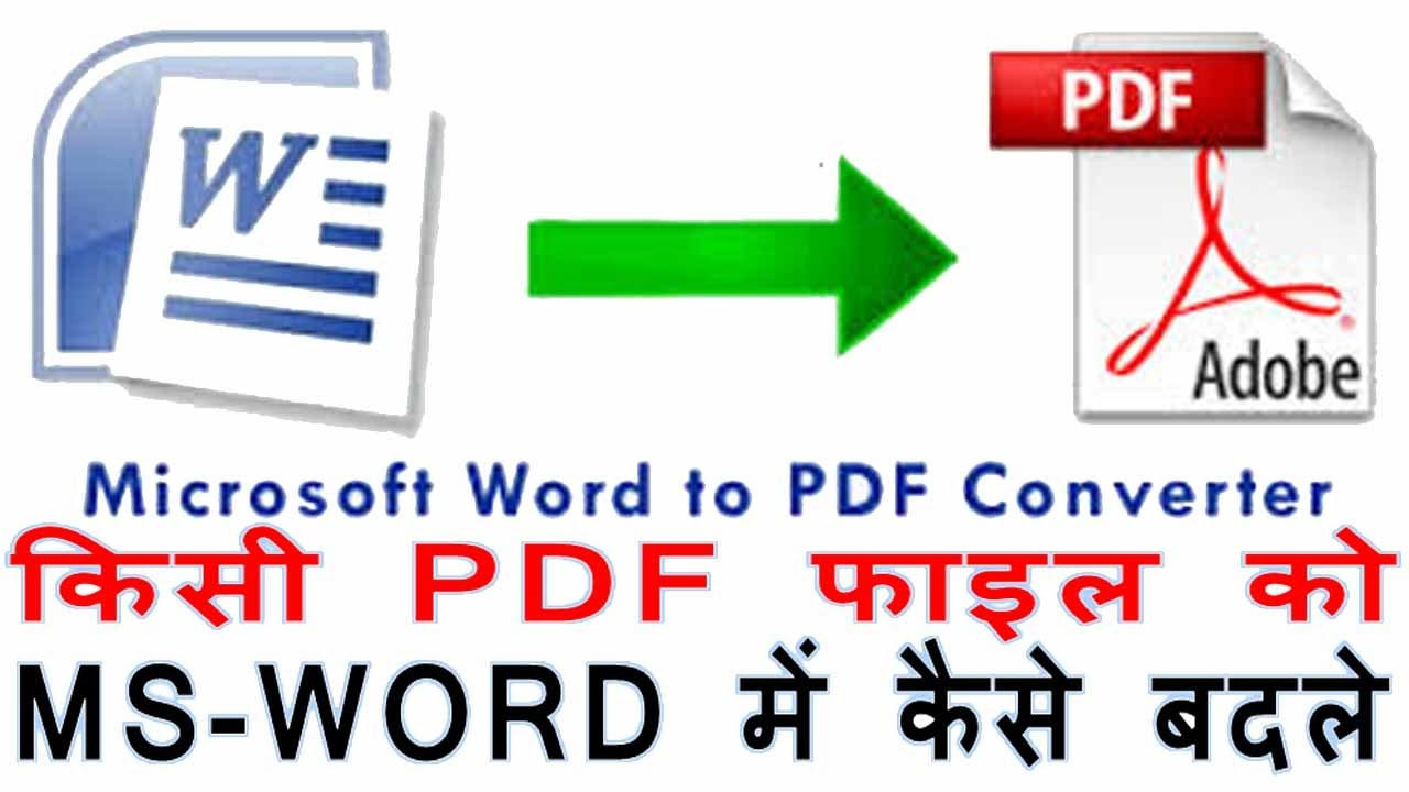 How To Convert Pdf To Word Online How To Convert Word To Pdf Online