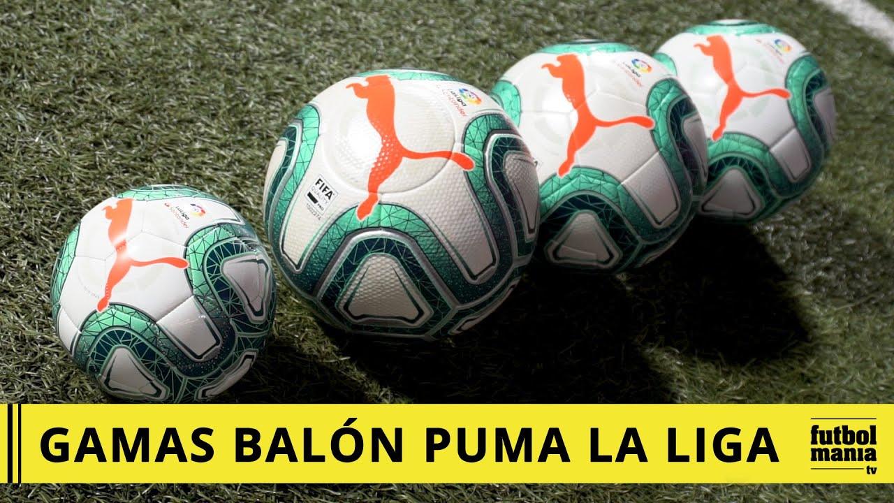 alojamiento Pies suaves mar Mediterráneo  Balón Puma La Liga 2019 2020 - GAMAS y PRECIOS - YouTube