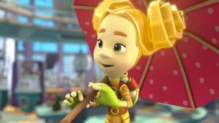 Фиксипелки - Песенки для детей - Зонтик | Фиксики - познавательные образовательные мультики