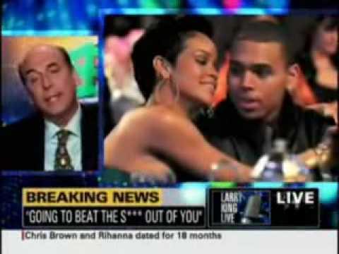 Chris Brown Larry King