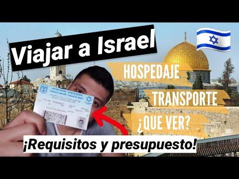🇮🇱¿CUANTO DINERO NECESITO PARA VIAJAR A ISRAEL?🇮🇱/ Requisitos Y Visado, Presupuesto Por Dia💲💲