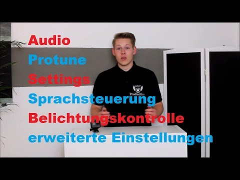 GoPro Hero 5 black # 10 Settings / Protune / exposure control and more (German)