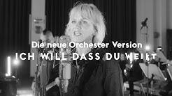 Ich will dass du weißt - Anna Loos feat. Deutsches Filmorchester Babelsberg (Offizielles Video)
