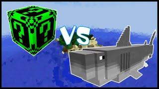 Неоновый Лаки Блок VS Мегалодон! - Лаки Битва #6