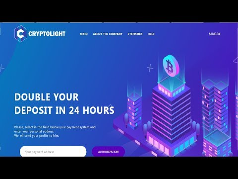 Crypto Light - Double Your Bitcoin In 24 Hours Legit & Trusted Site