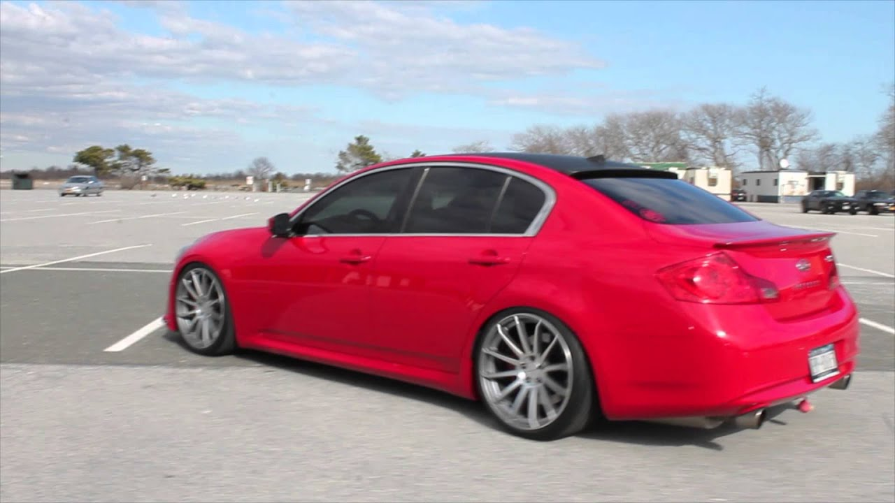 Red Infiniti G37 Sedan Youtube