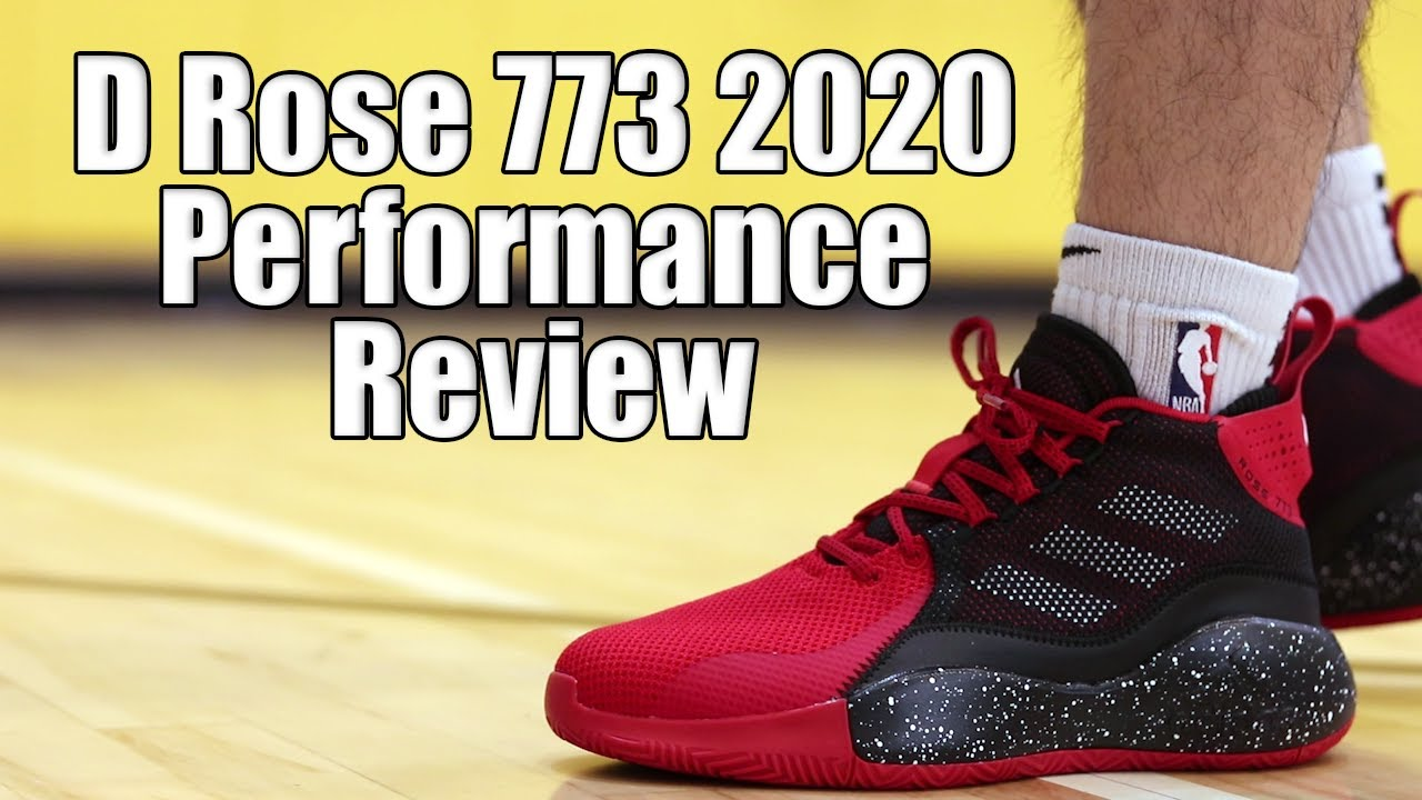 Adidas D Rose 773 2020 Performance Review