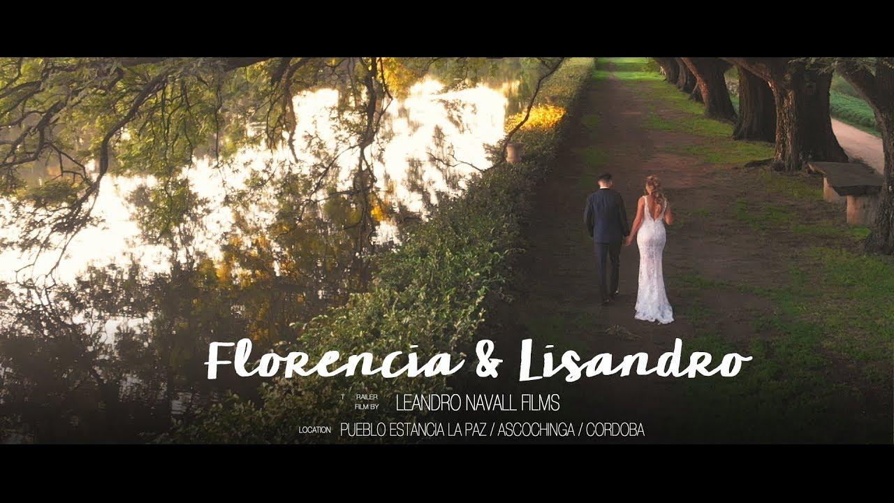Flor y Lisandro ::  Leandro Navall :: Videografo de Bodas en Ascochinga, Córdoba, Argentina