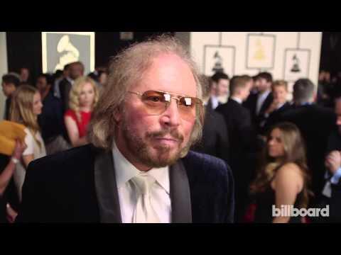 Barry Gibb: The 2015 GRAMMYs Red Carpet