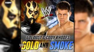 "WWE: Goldust & Cody Rhodes 2nd WWE Theme Song - ""Gold & Smoke"" (iTunes Release)"