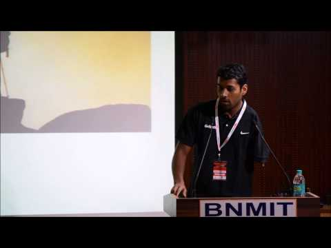For the love of swimming | SHARATH GAYAKWAD | TEDxBNMIT
