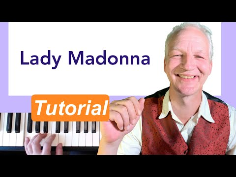 Lady Madonna Boogie Woogie piano tutorial
