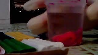 Как сделать Лизун жвачку для рук без клея из обычного пластилина; У меня получилось!!!