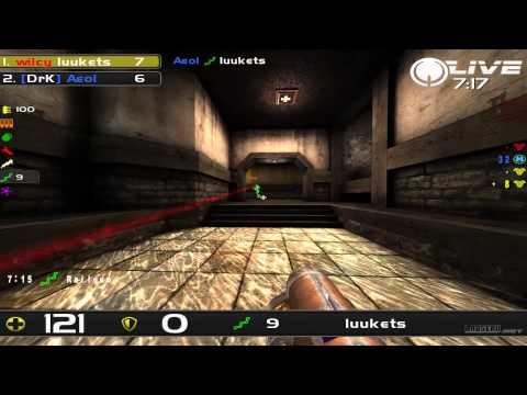 aeoL vs Luukets - DreamHack Winter 2013 Group C Round 5 (Quake Live VOD)