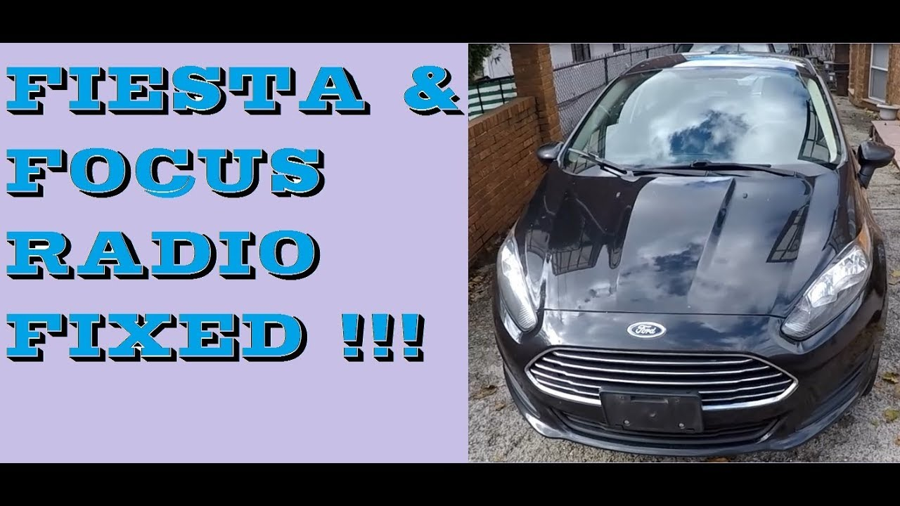 how to remove radio in 2011 2017 ford fiesta radio fixed how to remove radio in 2011 2017 ford fiesta radio fixed