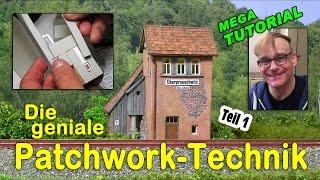 MEGA TUTORIAL Modellbau #Blockstelle #Oberpreuschwitz / Teil 1 - Gebäude in H0 #kunstmichiworld 064