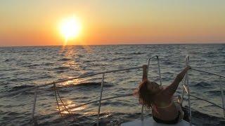 Крым | 8 день | Черноморское | мыс Тарханкут | Беляус(Всем привет! Это видео о восьмом дне нашего отдыха. В этот день мы посетили город-курорт Черноморское и..., 2014-09-26T19:06:23.000Z)