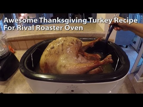 How To Cook A Turkey With A Rival Roaster Oven