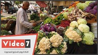 بالفيديو.. أسعار الخضروات فى سوق الدقى