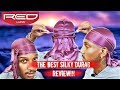 THE SILKIEST DURAG IN THE WORLD? 360 WAVE RED BY KISS DURAG UNBOXING & FULL REVIEW!!!
