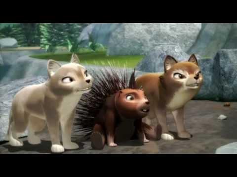 Мультфильм три волчонка