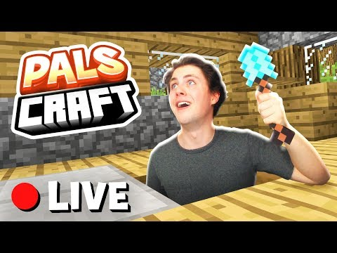 BREAKING INTO DENIS' NEW HOUSE! | PalsCraft #13