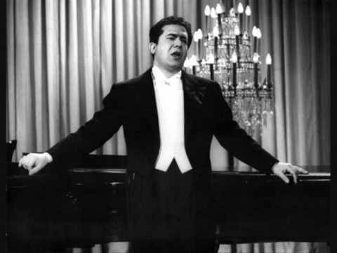 Giuseppe di Stefano. Celeste Aida. Aida. Verdi