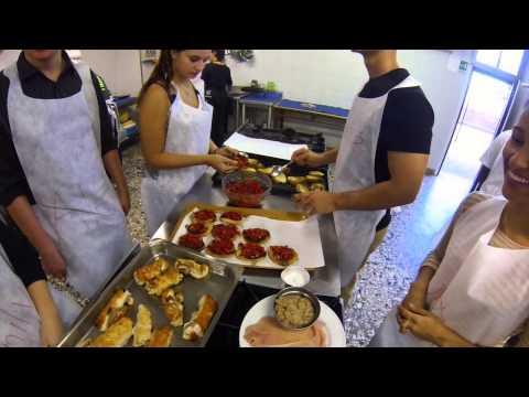 ERAU Study Abroad Italian Cooking Class